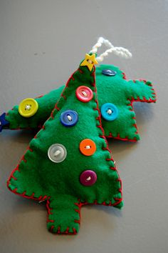 For the kids to make??  Homemade Ornaments