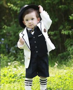 Boys Formal Shirts Lovely Boy Suit For The Boy'S Wedding Flower Boy Suit Children'S Wear Formal Party Public Suit For Boys From Zhangguizhi, $71.21| Dhgate.Com