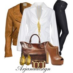 """Making Plans for the Weekend"" by arjanadesign on Polyvore"