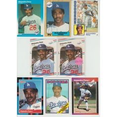 Huge 30 Different ALEJANDRO PENA cards lot 1984 - 1993 Dodgers Mets Braves Listing in the 1980-1989,Sets,MLB,Baseball,Sports Cards,Sport Memorabilia & Cards Category on eBid United States | 148215917