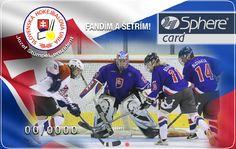 Slovenská hokejbalová únia - karta ako prezent a odmena pre fanúšikov