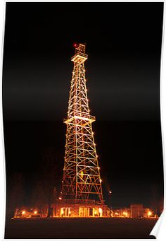 Oil derrick...lots of family history in the oil field...dad, uncle, father in law, brother in laws, nephews, and a ton of friends.