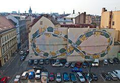 Pinturas murales de Blu  Praga