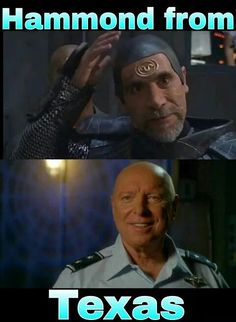 I always loved Bra'tac and his respect for Hammond, how he recognized Hammond as a fellow warrior spirit even though his current position within the SGC was mostly administrative. #stargate