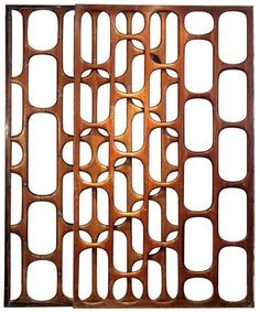 Wood screen 1950's