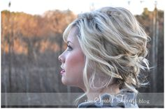 I whipped up this soft updo while I was getting ready to go on my Christmas date with my husband! We went to a new (to us) restaurant downtown Raleigh and then stopped by the mall so I could pick o…