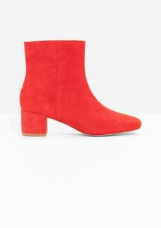& Other Stories | Suede Ankle Boots