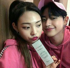 Korean Ulzzang, Ulzzang Boy, Korean Couple, Korean Girl, Kim Bo Bae, Tumblr Korea, Chicken And Shrimp Recipes, Ulzzang Couple, Young Love