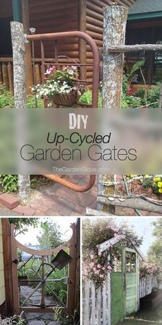 DIY Up-Cycled Garden Gates • Ideas & Tutorials! by TamidP