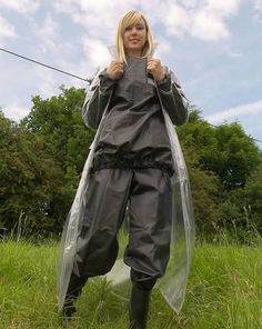 Fall Out Girl's - Shiny Sports Raincoat Jacket, Pvc Raincoat, Plastic Raincoat, Rain Jacket, Imper Pvc, Transparent Raincoat, Rain Fashion, Women's Fashion, Outfit