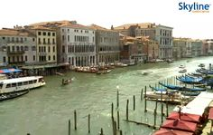 Live Webcam Venezia - Canal Grande