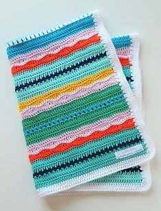 Ravelry: Miami Beach baby blanket pattern by Maaike van Koert