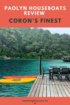 If you've been looking for the most unique place to stay in Coron, Philippines then look no further! Paolyn Houseboats is the ultimate dream, find out what make this place so special. Top Hotels, Hotels And Resorts, Amazing Destinations, Holiday Destinations, Global Holidays, Siargao Island, Water Villa, Dubai Hotel, Houseboats
