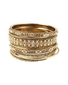 You need to see this Amrita Singh Set of 9 Crystal Bangles on Rue La La.  Get in and shop (quickly!): http://www.ruelala.com/boutique/product/97795/27526149?inv=leighannkirby&aid=6191
