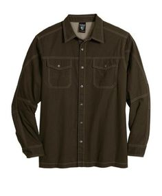 5ff2e76ae Kuhl Men s Longsleeve Flakjak Shirt. A great looking long sleeve shirt with  some nice technical