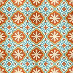 Kitchen Back Splash Tile - Portugese Cement Tegel....Amarillo 1