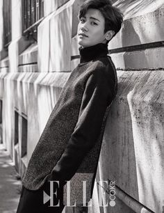 Park Hyung Sik for Elle Korea Korean Star, Korean Men, Asian Actors, Korean Actors, K Pop, Ahn Min Hyuk, Strong Woman Do Bong Soon, Parks, Kai Exo