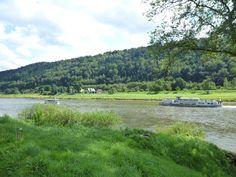 an der Elbe bei Bad Schandau
