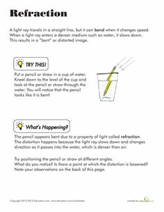 23 best Light Energy images on Pinterest | Science classroom ...
