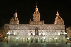 Ayuntamiento de A Coruña. Plaza de María Pita