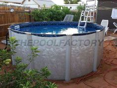 When filling the pool with water you should take your time getting it to fill up completely. You have to allow the liner to carefully stretch out inside the pool by filling it slowly.
