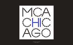 Newly redesigned MCA logo by Mevis & Van Deursen (MVD)