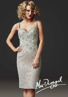 MacDuggal Homecoming Cocktail Dress 78850D at Peaches Boutique