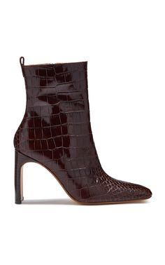 Marcelle Croc Bootie by MIISTA for Preorder on Moda Operandi