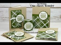 http://mychicnscratch.com/2015/11/one-sheet-wonder-cozy-christmas-2.html Stampin' Up! Demonstrator Angie Kennedy Juda. Check out my blog for more paper craft...