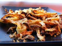 Gluten-Free Onion Topping - #MyAllrecipes #AllrecipesFaceless #glutenfree OMG delicious, ate them right off the baking sheet! :-)