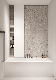 Behance :: For You Bathroom Spa, Bathroom Toilets, Bathroom Renos, Small Bathroom, Master Bathroom, Apartment Bathroom Design, Apartment Interior Design, Modern Bathroom Design, Bathroom Interior Design