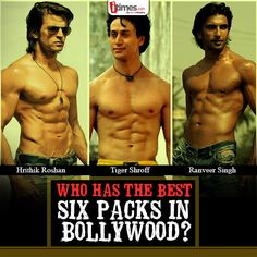 A lot of effort & determination is required to attain those perfect six pack abs. Who according to you has the best abs in #Bollywood? Vote here -