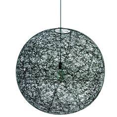 1866€ Random pendant light L, black group Lighting / Lamps of RUM21.se (109221)