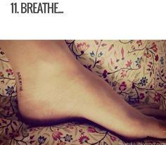 Breathe tattoo. Super pretty and girly