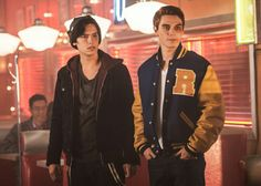 I just started watching Riverdale and I'm in love already. Jughead and Archie are my faves, obviously.
