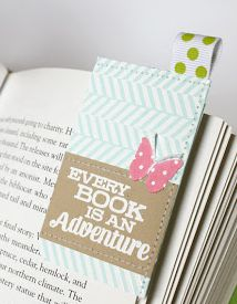 DIY Bookmarks and A Giveaway on The Mindful Shopper!