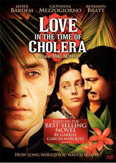 Love in the Time of Cholera ~ I'm in love with the book and last night finally I could watch the movie and it was really enchanting! Javier Bardem is a genius and I love the soundtrack too! A really perfect adaptation with the feeling and everything - just how I imagined when I read the book before! Fantastic story, fantastic movie.