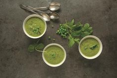 Spring Pea Soup... This uses lettuce too, perfect seeing as we have a glut in our garden!