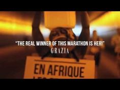 Water for Africa - The Marathon Walker - YouTube