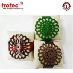 Laser Cut Leather Bracelet with Daisy Sun pattern by TROTEC LASER MACHINE.  #trotec #laser #cutting #machine #leather #bracelet #design #altarkeez #dubai #success #contactus  For more information contact: Al Tarkeez Trading LLC Phone: (00971) 4 294 1171 - (00971) 4 294 1173 Fax: (00971) 4 294 1188 Email: info@tarkeez.net www.tarkeez.net Al Garhoud, Ithraa Plaza bld, Office number: 302, Dubai - U.A.E