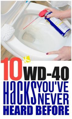 10 Awesome cleaning tips and tricks. Great cleaning hacks that will save you time and make cleaning easier. Household Cleaning Tips, Cleaning Recipes, House Cleaning Tips, Deep Cleaning, Spring Cleaning, Bathroom Cleaning Tips, Cleaners Homemade, Diy Cleaners, Wd 40 Uses