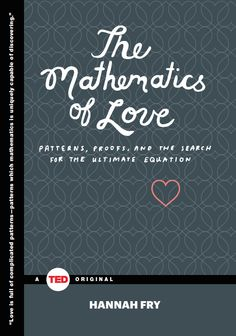 Math always has the answers.  (Says the dread-headed romantic -- I am a poet AND a quant.)