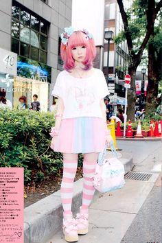 You can call me Aririn☆ I live in Japan/former Akiba Maid Waifu//Lolita/Japanese Fashion/Anything cute tbh Estilo Harajuku, Harajuku Mode, Harajuku Girls, Harajuku Fashion, Kawaii Fashion, Lolita Fashion, Cute Fashion, Fashion Outfits, Fashion Trends