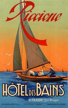 Welcome to my image stream and information resource devoted to the art of luggage labels and related travel ephemera. Luggage labels are fascinating bits of hotel history from the golden age of. Vintage Beach Posters, Vintage Italian Posters, Vintage Hotels, Luggage Labels, Tropical Art, Drawing, Sailboat, Graphic Illustration, My Images