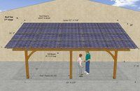 Great idea!  Cover the Pavilion roof with solar panels.