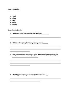 Punctuation, Worksheets and Christmas carol on Pinterest