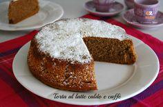 TORTA AL LATTE CALDO E CAFFE'