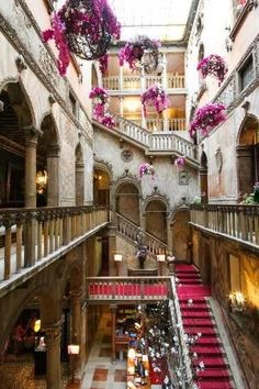 The Danieli Hotel in Venice Italy has been magnificently restored to  it's former glory... a former Venetian Nobleman's palace th...