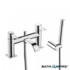 Khone Bath Taps - Bath Mixer Tap with Hand Held Shower