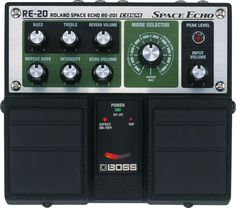 What outerspace pedalboard would be complete without a BOSS - RE-20 Space Echo Pedal?